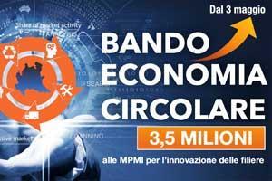 Bando innovazione delle filiere di economia circolare in Lombardia  2021