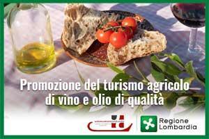Promozione del turismo agricolo del vino e dell'olio di qualità